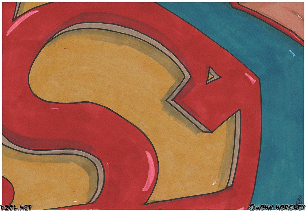 Superman Sheild Fly