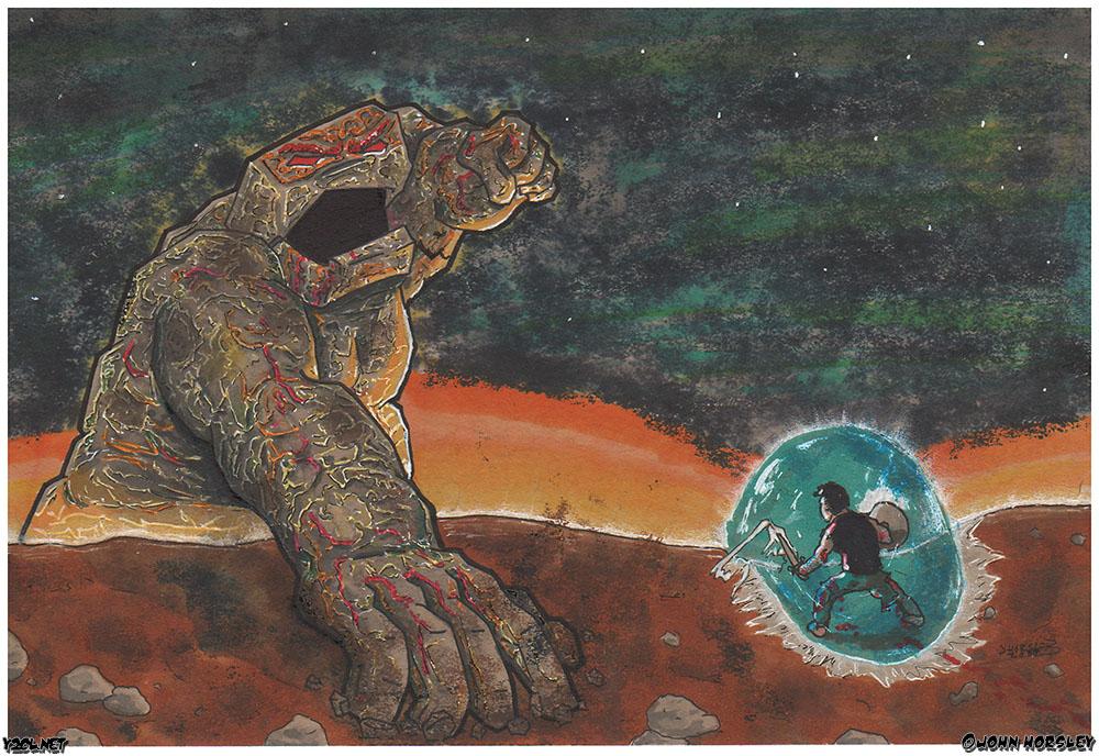 Man vs Titan
